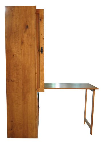 Hidden Table Down side view