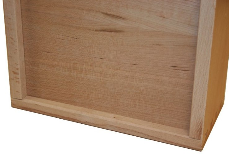 Wilding Wall Beds uses fully dove-tailed drawer boxes for Wall Bed Side Cabinets