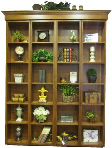 Bi-fold Bookcase Wallbed