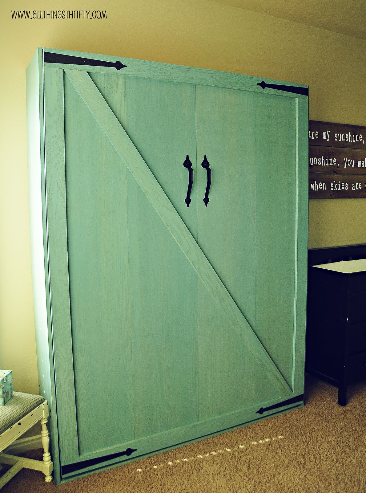 Do It Yourself Murphy Bed