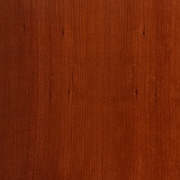 Crimson Spray finish on Cherry Wood