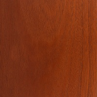 Crimson Spray finish on Mahogany Wood