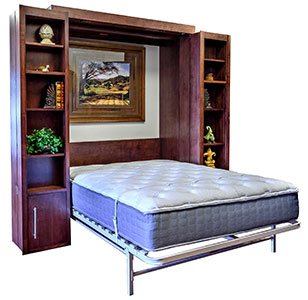 bookcase wallbed