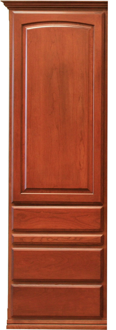 Presidential II style Wardrobe with Slide Out