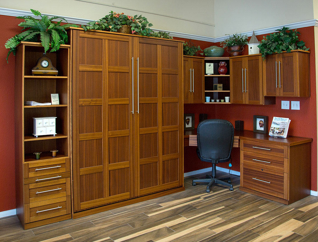 Manhattan style Home Office with Murphy Bed