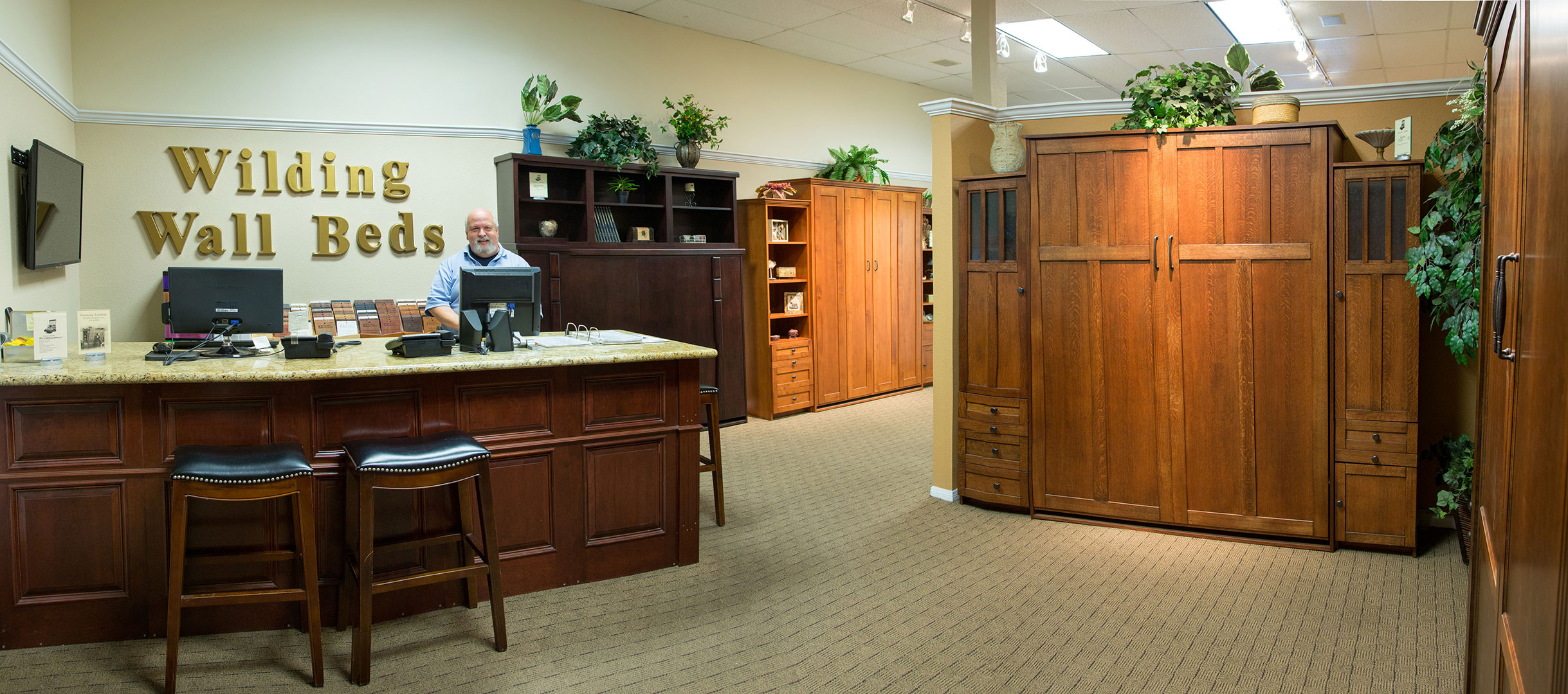 San Diego California Murphy Bed Showroom