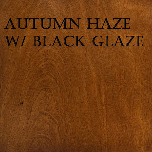 Autumn Haze Black Glaze