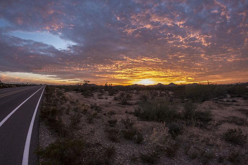 Phoenix Arizona Road