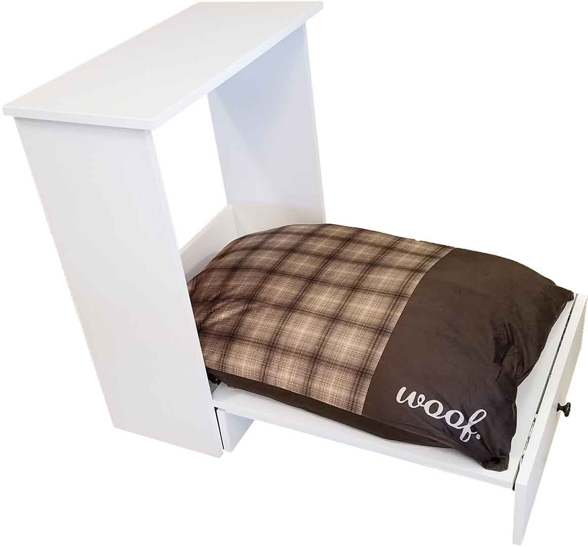 Wilding Wallbed Dog Bed with Food bowls