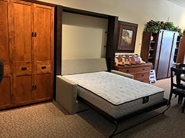 ... Sofa Murphy Bed Open