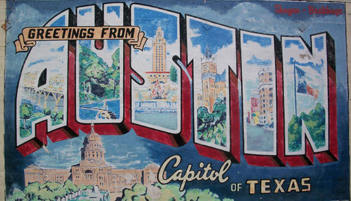 Austin Texas Post Card