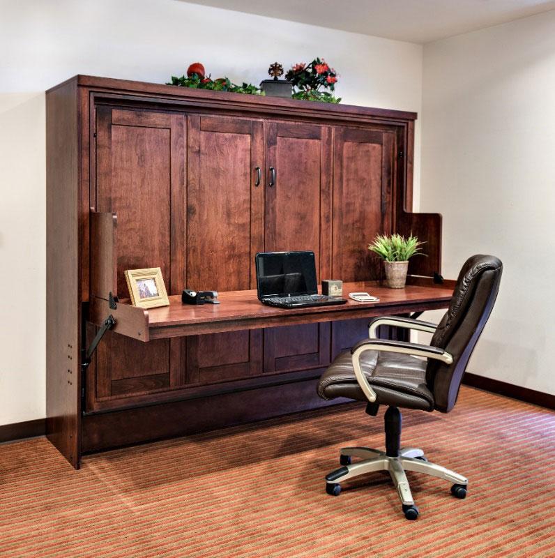 Desk Murphy Bed