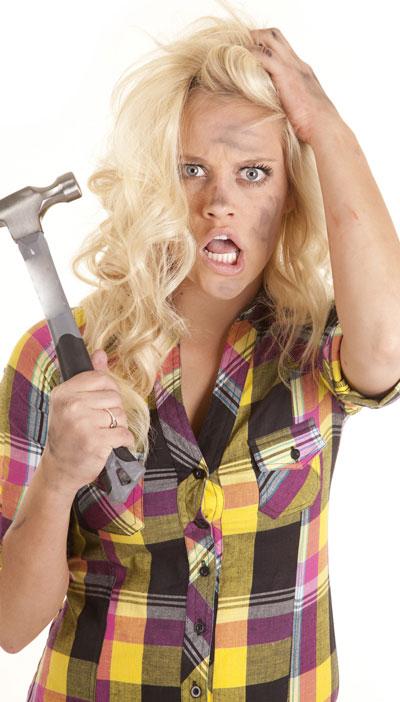 Frustrated DIYer