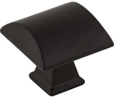 Matte Black Newport knob