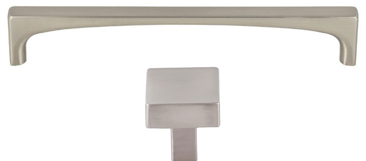 Brushed Satin Nickel Handles