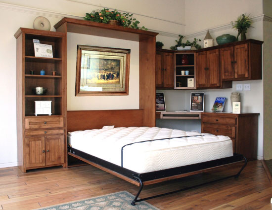 Newport Murphy Bed Home Office