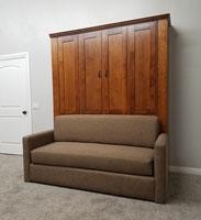 Pecan Sofa