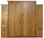 Remington style Murphy Bed